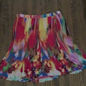 Dresses & Skirts - Melanie Lyme Multicolour A-line Skirt size 14